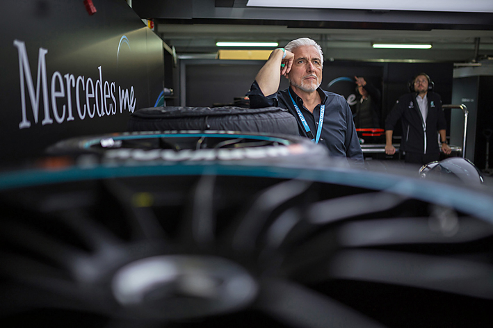 Ralph Schubert, team coach Mercedes-AMG DTM team 2017